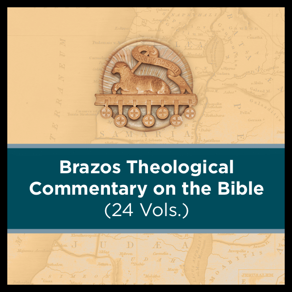 Brazos Theological Commentary on the Bible | BTC (24 vols.)