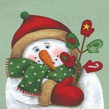 Snowmanmitten