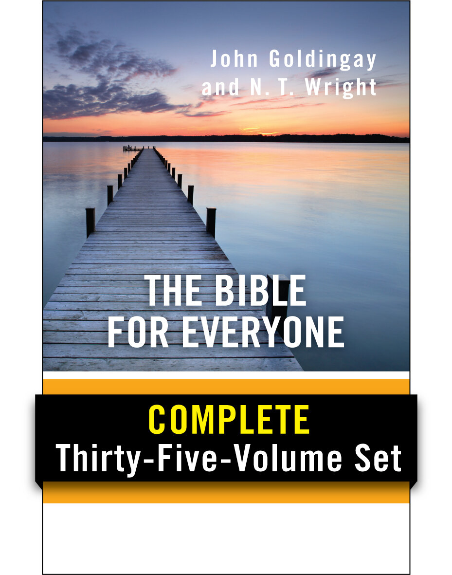 The Bible for Everyone Commentary Collection (35 vols.)