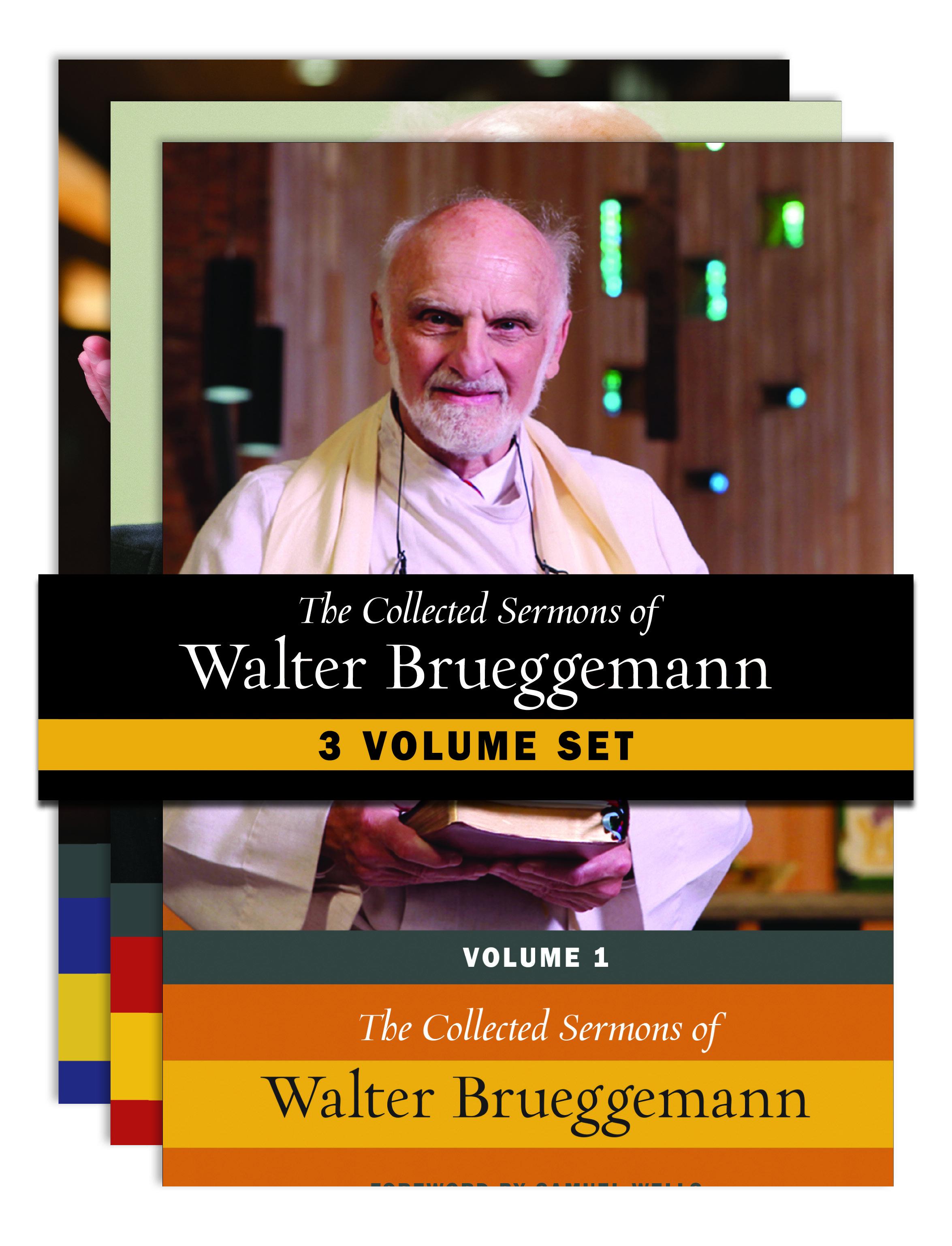 The Collected Sermons of Walter Brueggemann (3 vols.)