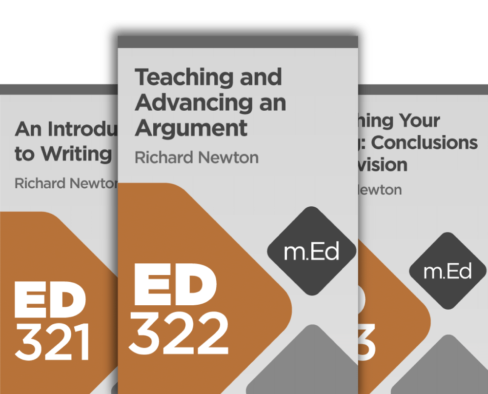 Mobile Ed: Introduction to Writing Bundle (3 courses)