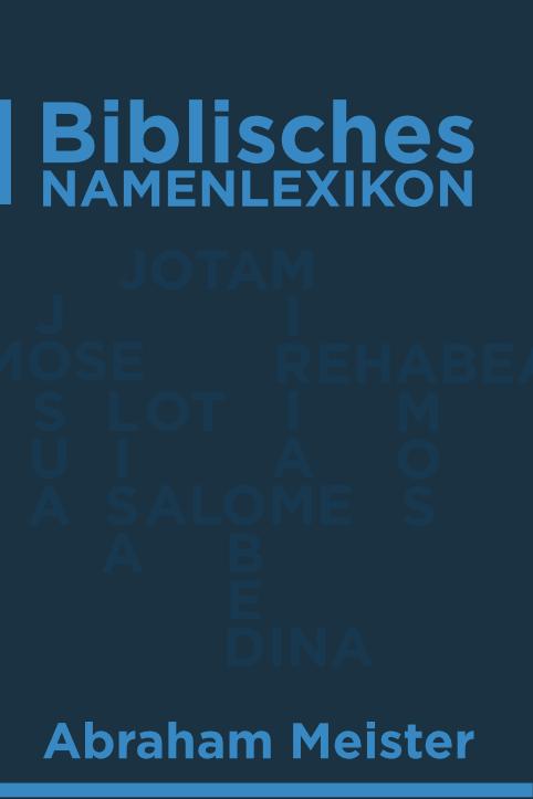 Biblisches Namenlexikon