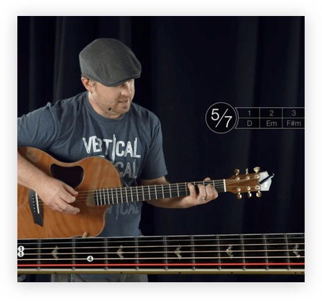 Man Giving Guitar Tutorial