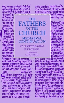 On Job, Volume 1 (Fathers of the Church Medieval Continuations)