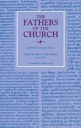Inquiry about the Monks in Egypt (Fathers of the Church)