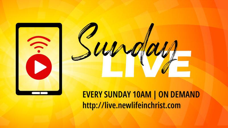 Sunday LIVE Facebook Banner