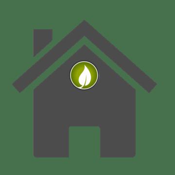 House Church Logo On House Gray