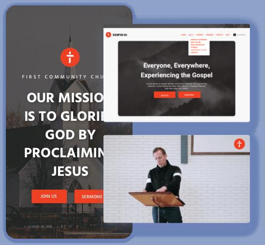 Faithlife Sites image collage