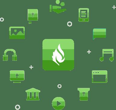 Faithlife Logo Collage