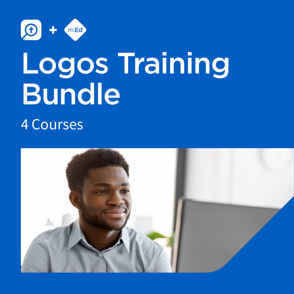 Mobile Ed: Logos Training Bundle (4 courses)