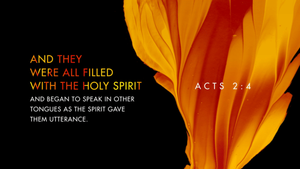 Acts 2: Community thought the Holy Spirit