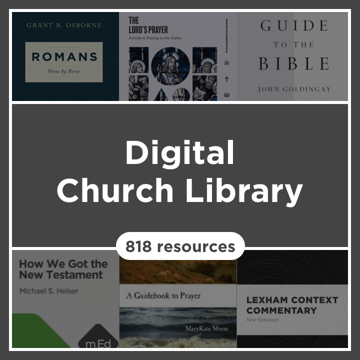 Digital Church Library (818 resources)