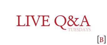 Live Q&A Newsletter Header