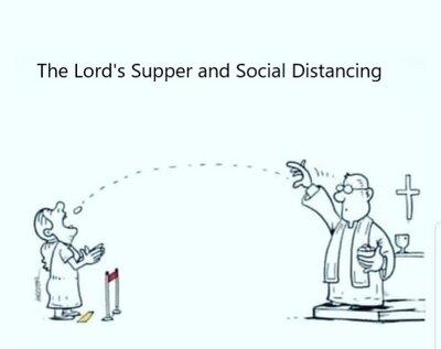 Communion Cartoon