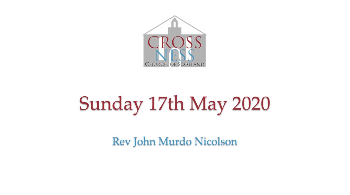 Sunday 17th May 2020