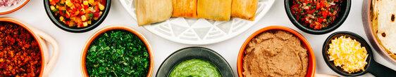 Mexican Food Spread