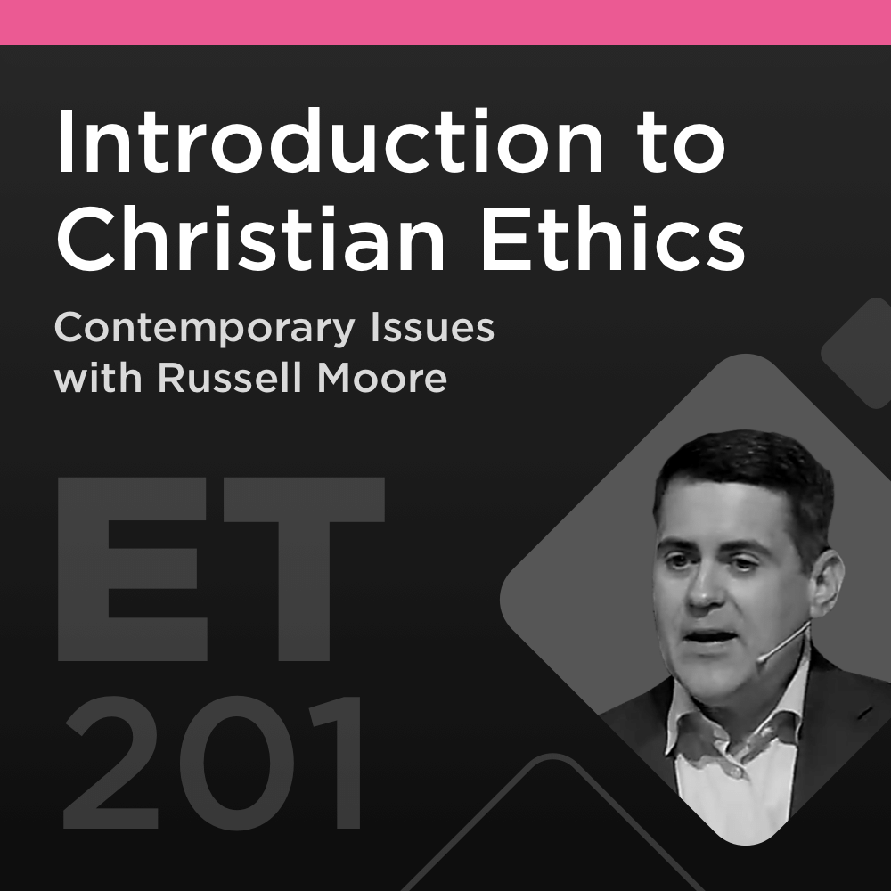Mobile Ed: ET201 Introduction to Christian Ethics: Contemporary Issues (13 hour course)