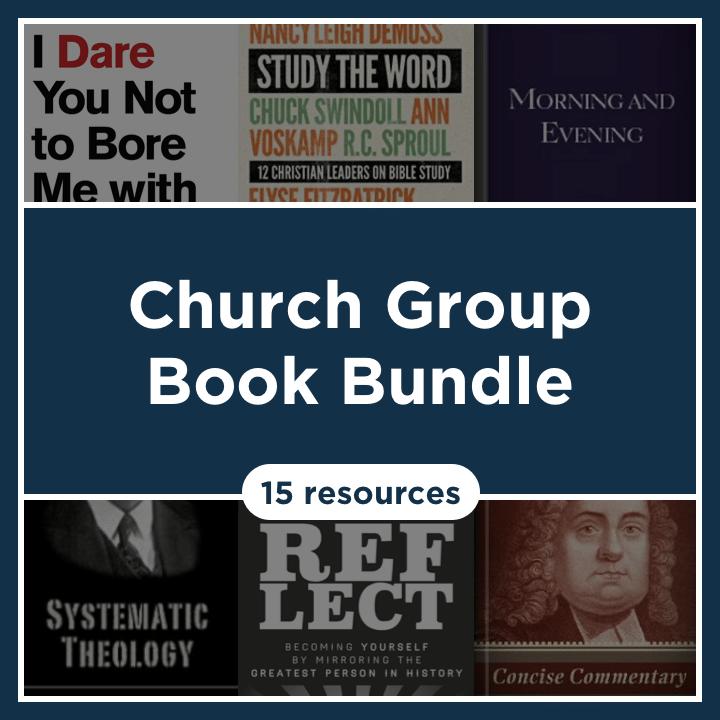 Church Group Book Bundle (15 Resources)