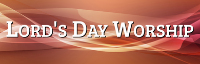 Lord's Day Worship 2