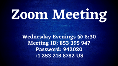 Zoom Wednesday