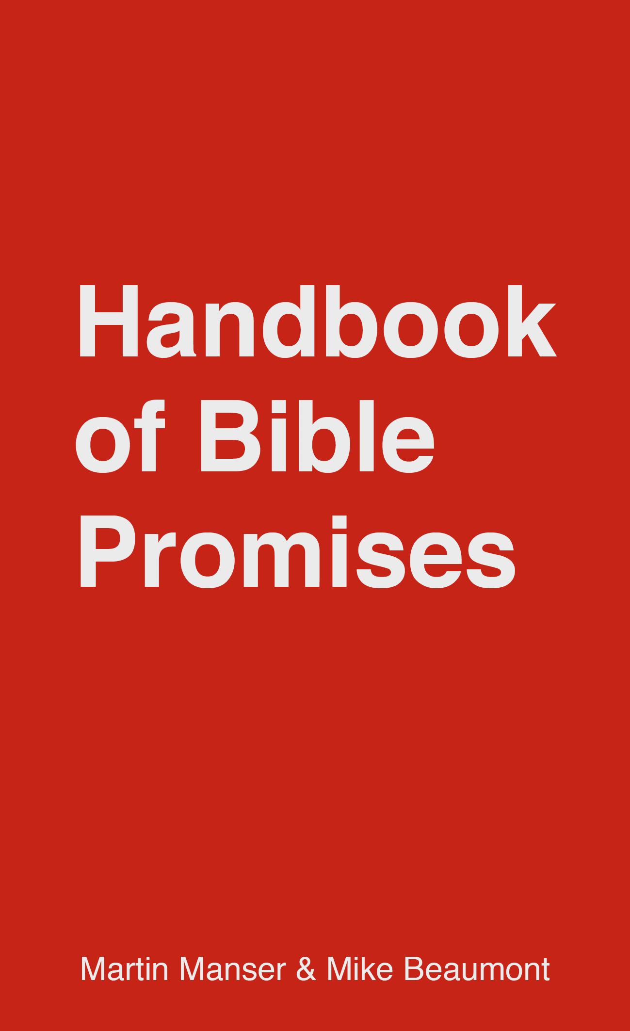 Handbook of Bible Promises