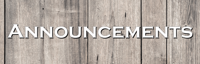 Announcements Wood