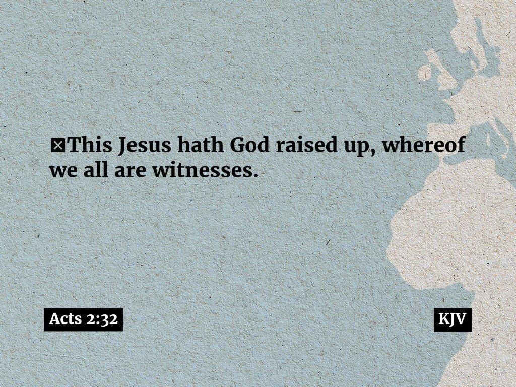 The Declaration of Praise