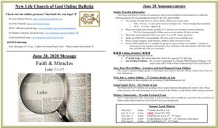 2020-06-28 Bulletin