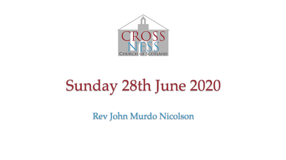 Sunday service 28th June 2020