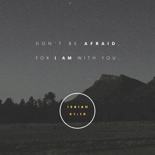 Scriptureart 1216 - Isaiah41 10