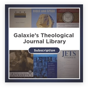 Galaxie's Theological Journals