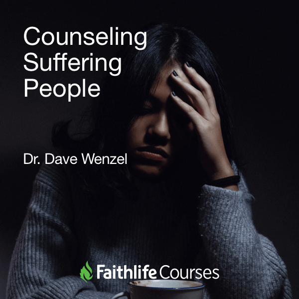Counseling Suffering People (0.75 hour course)