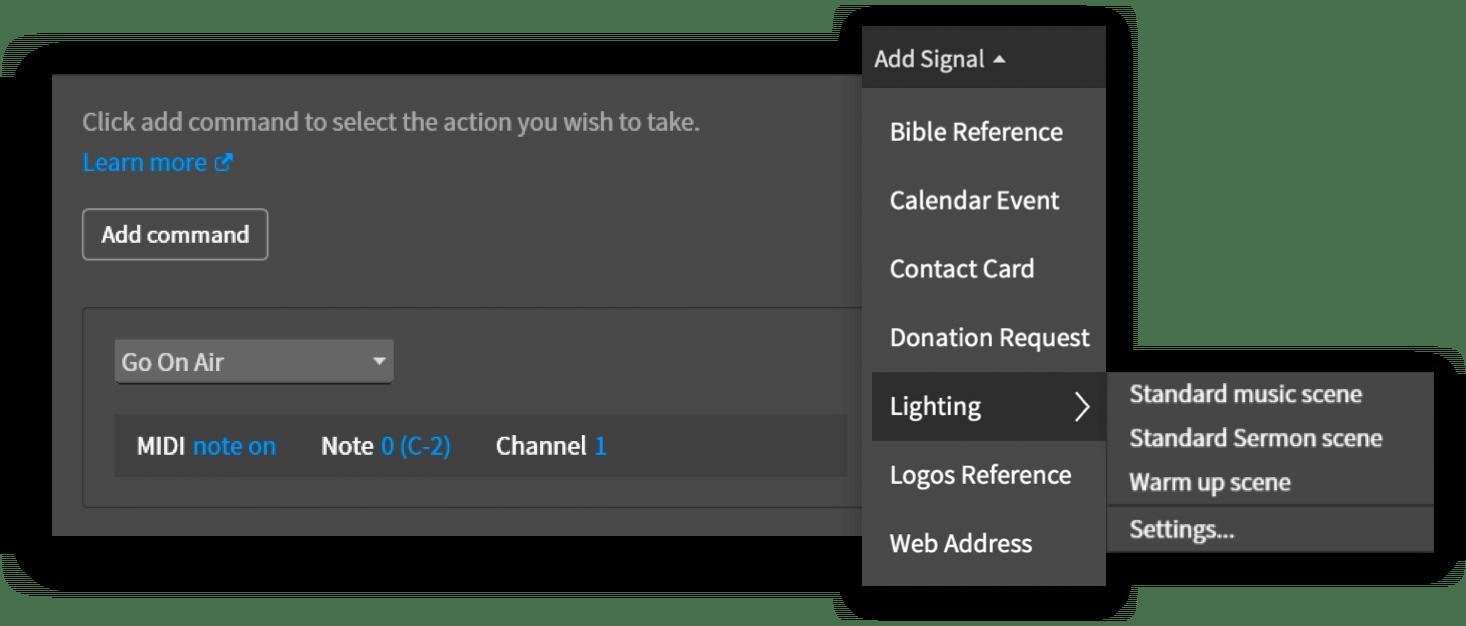 Organizing Content Screen Shot