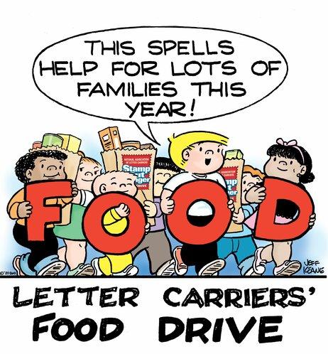 Food Drive 2020 Family Circus