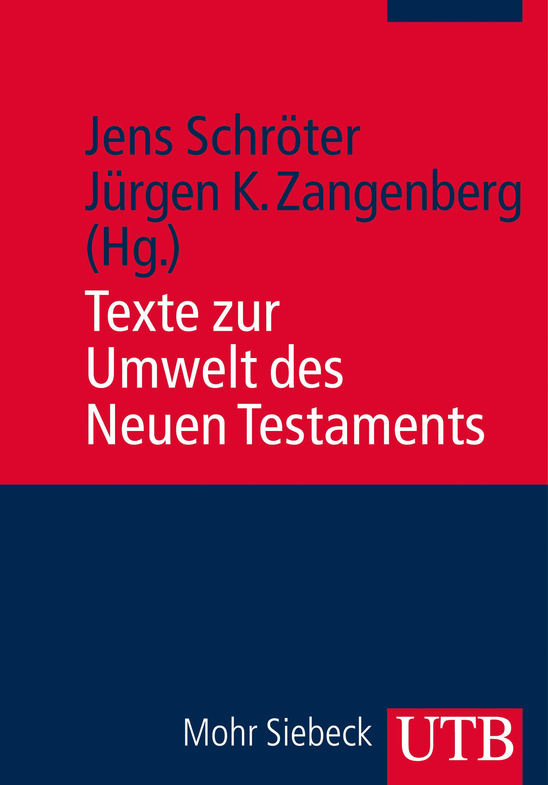 Texte zur Umwelt des Neuen Testaments