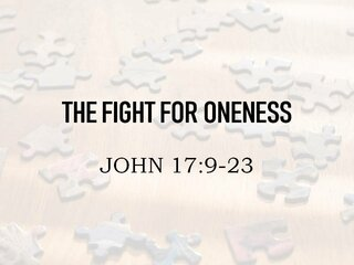 THE FIGHT FOR ONENESS