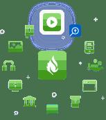 Faithlife giving icon collage