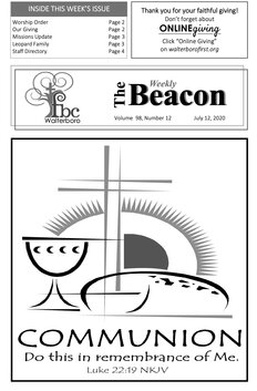 The Weekly Beacon 07.12.2020 1
