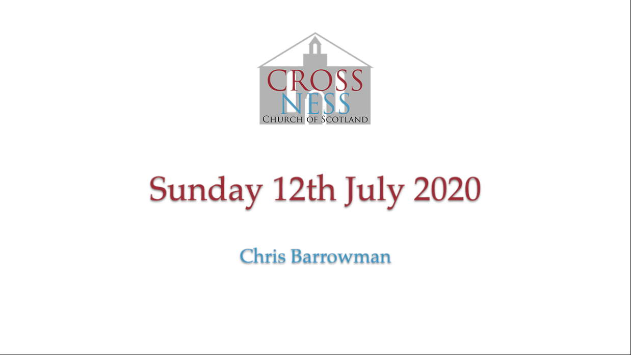 Sunday 12th July