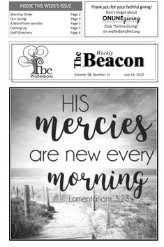 The Weekly Beacon 07.19.20 1