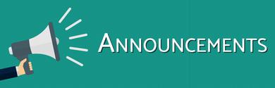 Announcements Megaphone