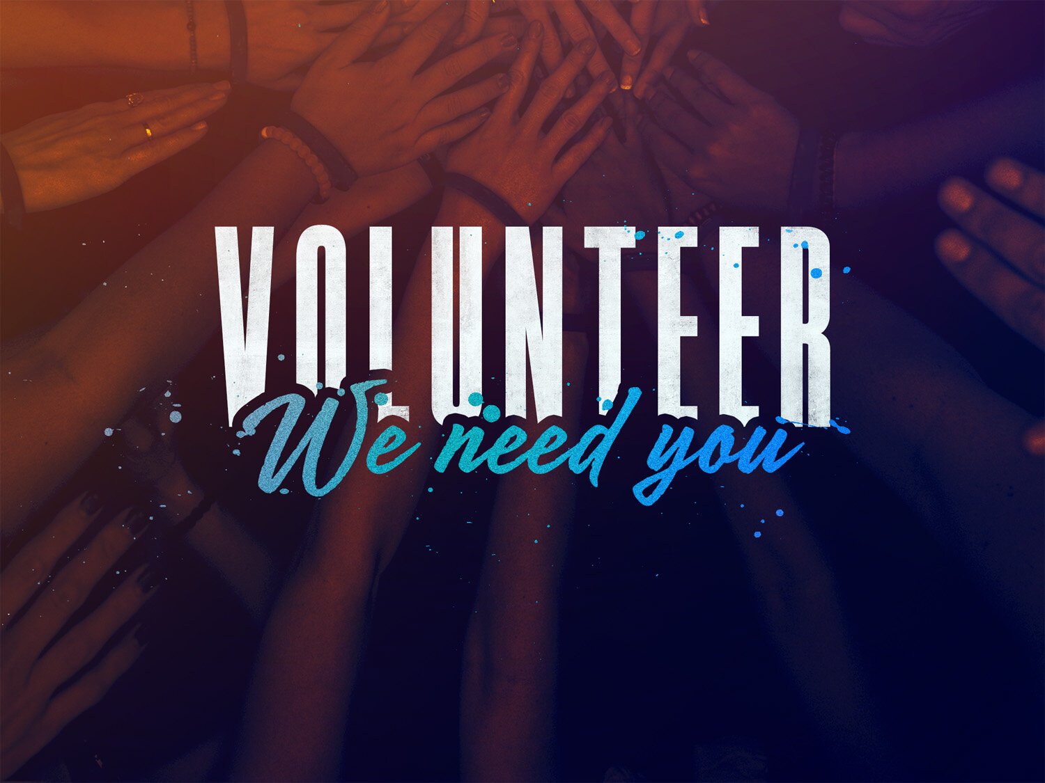 Sound/Video Volunteers Needed!