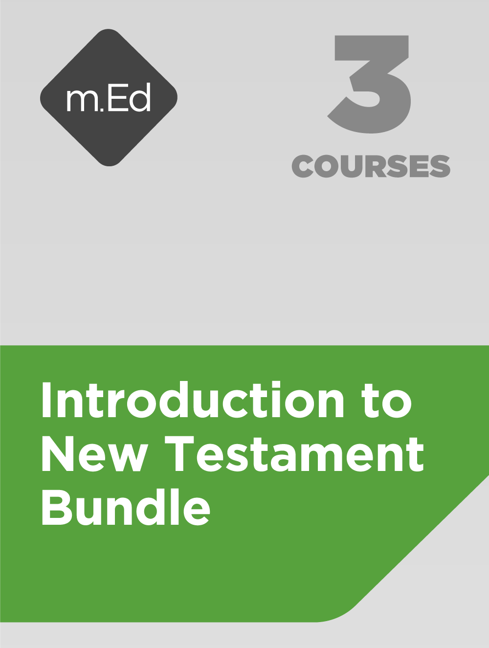 Introduction to New Testament Bundle (3 courses)