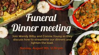Funeral Dinner Meeting