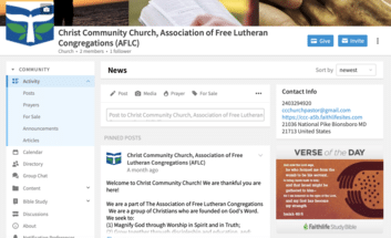 CCC Church Group Page In FL