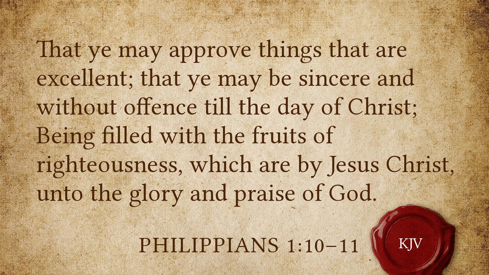 The Sincerity of Praise