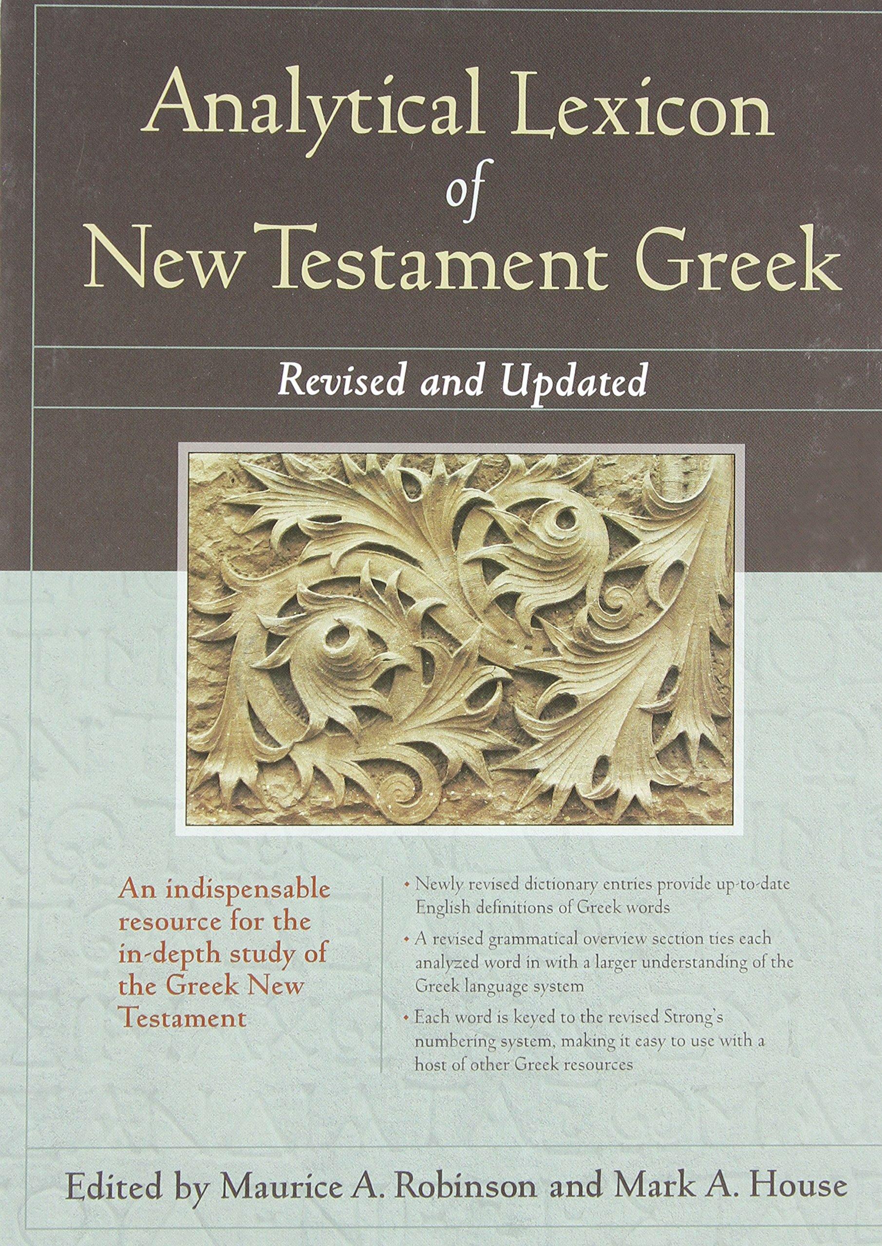 Analytical Lexicon of New Testament Greek, rev. ed.