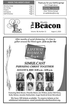 The Weekly Beacon 08.02.20 1