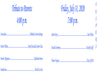 BMA Graduation Bulletin - 2020-3