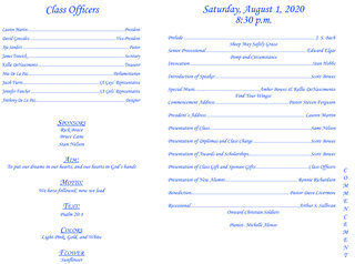 BMA Graduation Bulletin - 2020-2